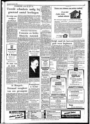 Rotterdamsch Parool / De Schiedammer 1961-09-02