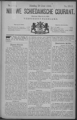 Nieuwe Schiedamsche Courant 1886-06-29
