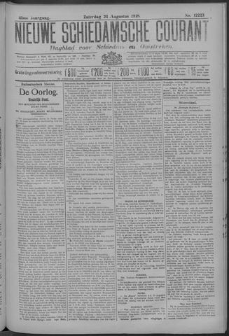 Nieuwe Schiedamsche Courant 1918-08-24