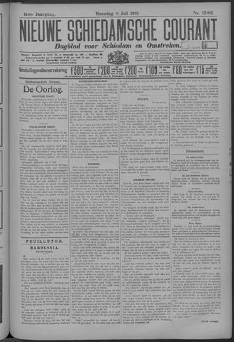 Nieuwe Schiedamsche Courant 1918-07-08