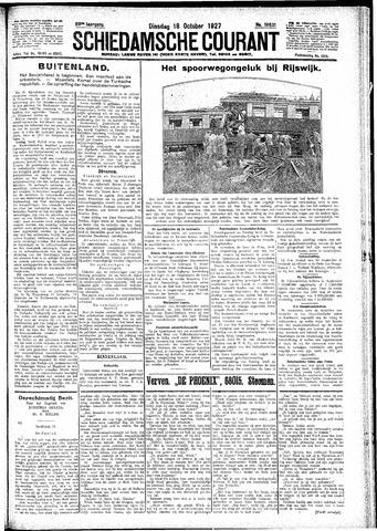 Schiedamsche Courant 1927-10-18