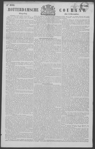 Rotterdamse Courant 1851-12-02