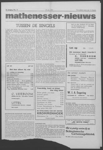 Mathenesser Nieuws 1963-10-10