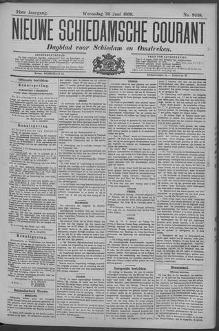 Nieuwe Schiedamsche Courant 1909-06-30