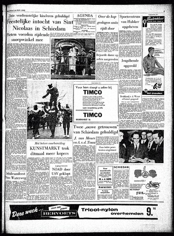 Rotterdamsch Parool / De Schiedammer 1962-11-26