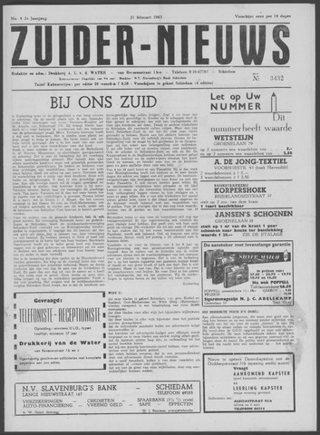 Zuider Nieuws 1963-02-21