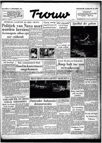 Trouw / De Rotterdammer 1957-11-11