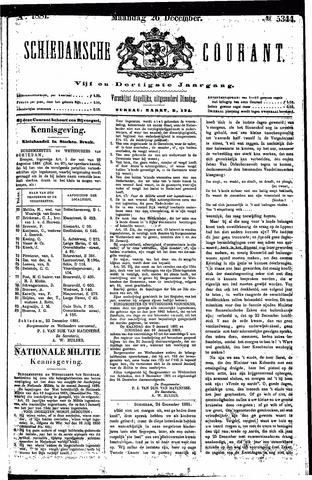 Schiedamsche Courant 1881-12-26