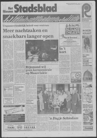 Het Nieuwe Stadsblad 1985-10-25