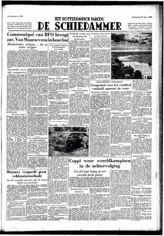 Rotterdamsch Parool / De Schiedammer 1949-08-25
