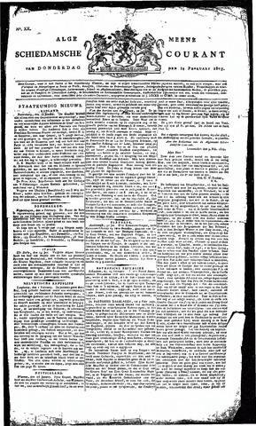 Algemeene Schiedamsche Courant 1805