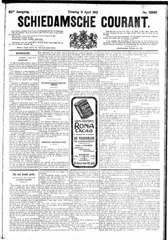 Schiedamsche Courant 1912-04-09