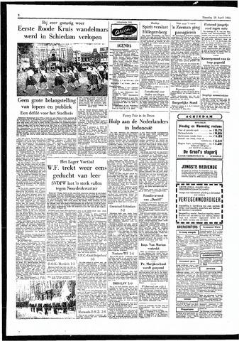 Rotterdamsch Parool / De Schiedammer 1955-04-18