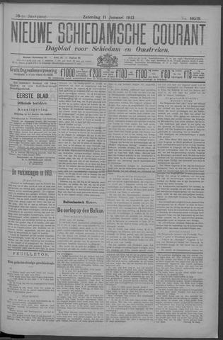 Nieuwe Schiedamsche Courant 1913-01-11