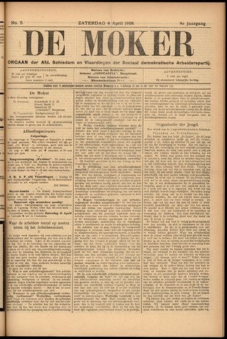 De Moker 1908-04-04