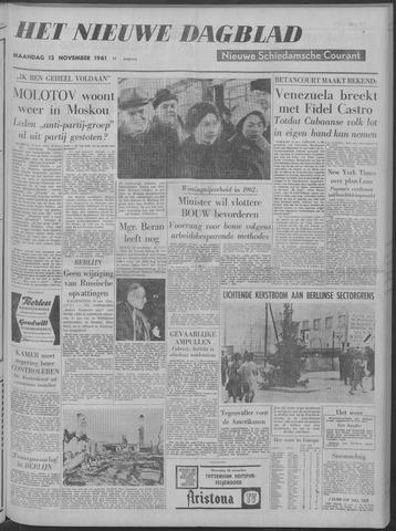 Nieuwe Schiedamsche Courant 1961-11-13