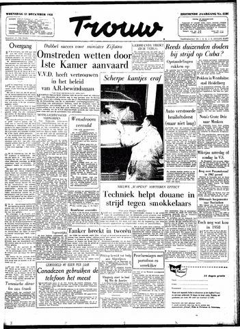 Trouw / De Rotterdammer 1958-12-31