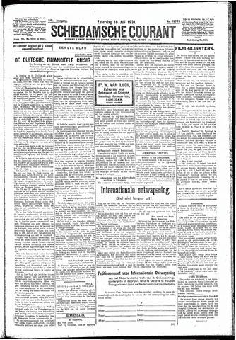 Schiedamsche Courant 1931-07-18