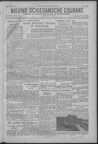 Nieuwe Schiedamsche Courant 1946-09-25