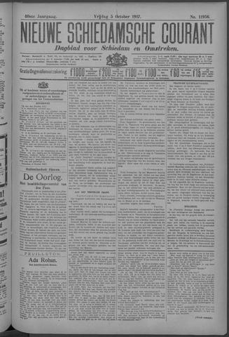 Nieuwe Schiedamsche Courant 1917-10-05