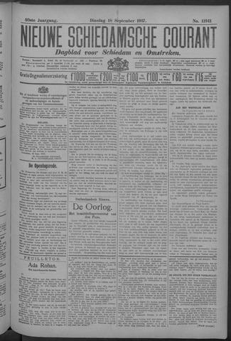 Nieuwe Schiedamsche Courant 1917-09-18