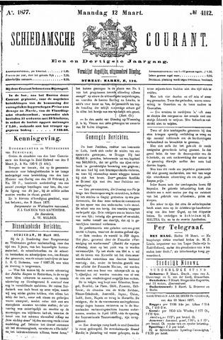 Schiedamsche Courant 1877-03-12