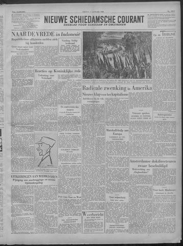 Nieuwe Schiedamsche Courant 1949-01-07