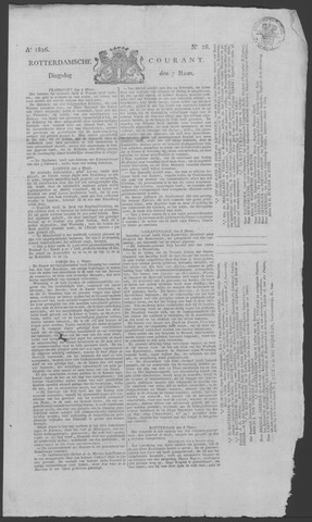 Rotterdamse Courant 1826-03-07