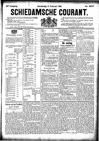 Schiedamsche Courant 1916-02-17