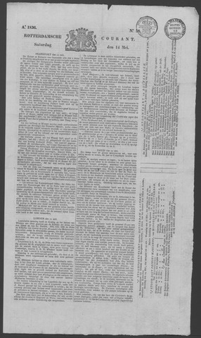 Rotterdamse Courant 1836-05-14