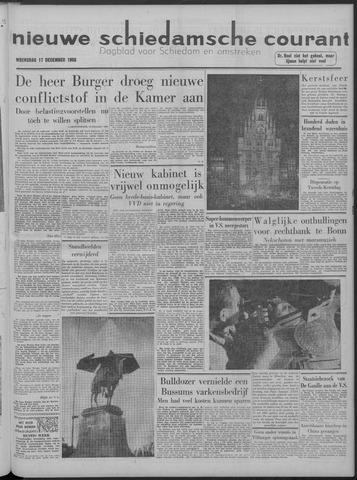 Nieuwe Schiedamsche Courant 1958-12-17