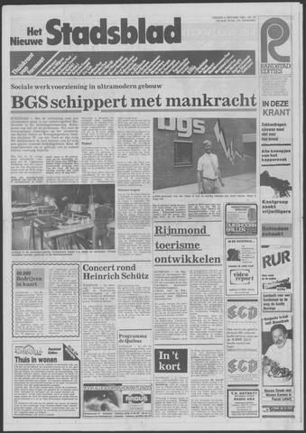 Het Nieuwe Stadsblad 1985-10-04