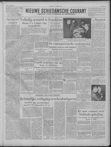 Nieuwe Schiedamsche Courant 1949-04-26