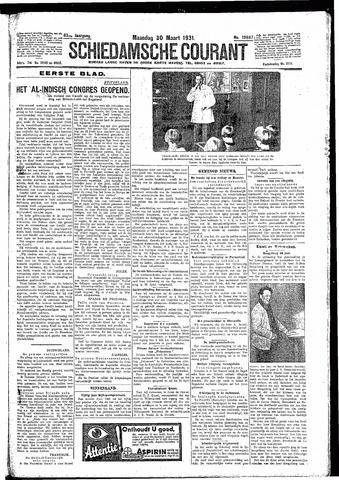 Schiedamsche Courant 1931-03-30