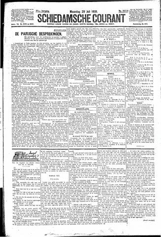 Schiedamsche Courant 1931-07-20