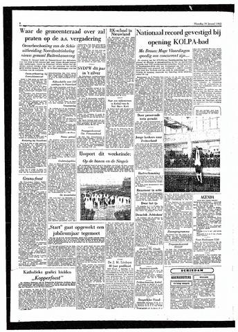 Rotterdamsch Parool / De Schiedammer 1955-01-10