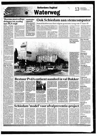 Rotterdamsch Nieuwsblad / Schiedamsche Courant / Rotterdams Dagblad / Waterweg / Algemeen Dagblad 1993-09-08