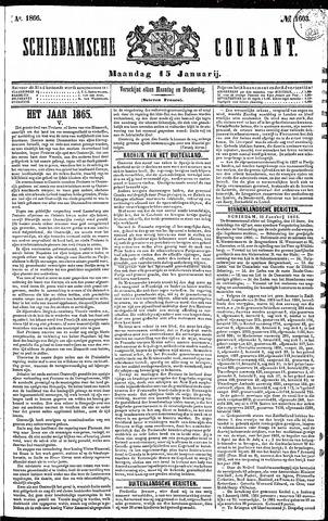 Schiedamsche Courant 1866-01-15
