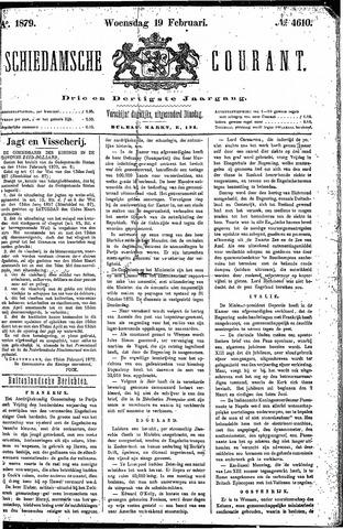 Schiedamsche Courant 1879-02-19