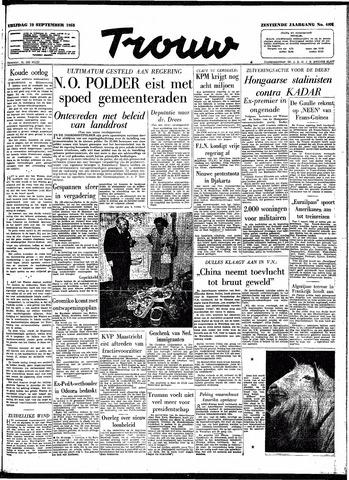 Trouw / De Rotterdammer 1958-09-19