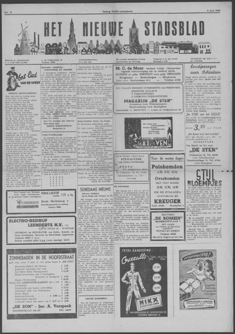 Het Nieuwe Stadsblad 1950-06-09