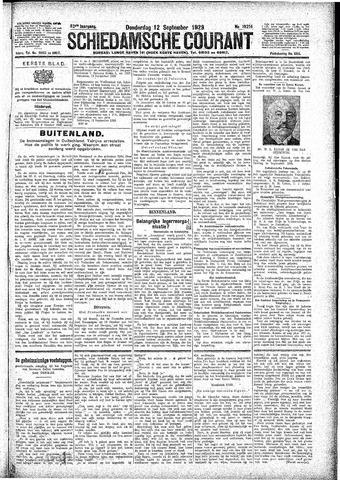 Schiedamsche Courant 1929-09-12