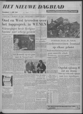 Nieuwe Schiedamsche Courant 1961-06-05