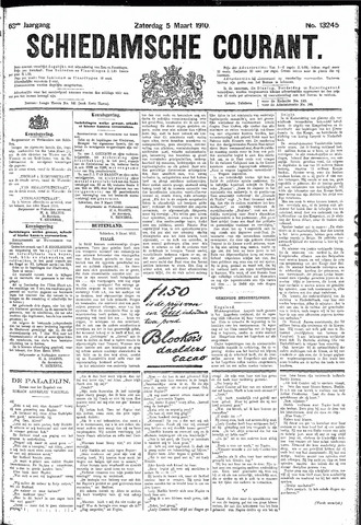 Schiedamsche Courant 1910-03-05
