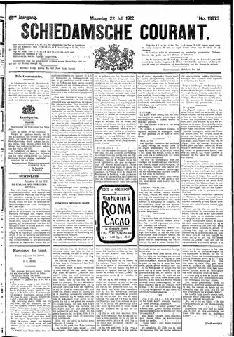 Schiedamsche Courant 1912-07-22