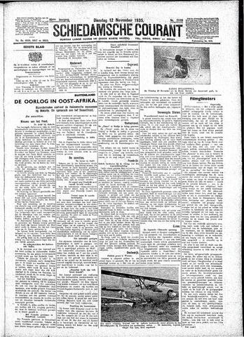 Schiedamsche Courant 1935-11-12
