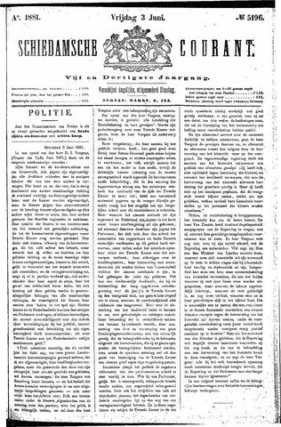 Schiedamsche Courant 1881-06-03