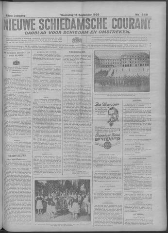 Nieuwe Schiedamsche Courant 1929-09-18