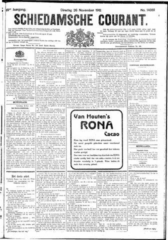 Schiedamsche Courant 1912-11-26