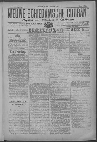 Nieuwe Schiedamsche Courant 1918-01-28